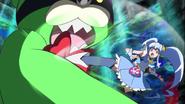 Princess peleando en New Stage 3