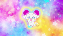 STPC09 Fuwa as a goat