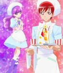 KKPCALM08 Yukari Akira KiraPati uniforms