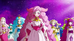 STPC48 Taurus tells the girls that Fuwa has returned to the Star Palace