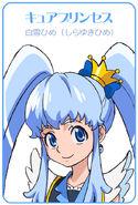 Cure Princess concept art 002