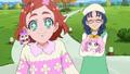 Haruka and Yui With Pufu and Aroma