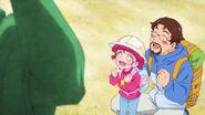Hikaru y Papa investigando UMAs