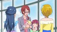 HuPC03.35-Sumire y Kotori hablando con Saaya y Homare
