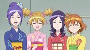 The girls in Yukata
