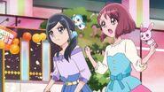 Nodoka y Chiyu llegan al campo de batalla