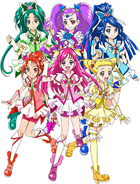 Perfil Yes 5 Festival Pretty Cure