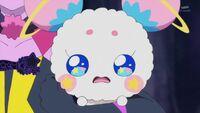 STPC19 Fuwa is terrified