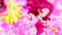HuPC-Heart Kiratto-Yell-Yell gets her pompoms