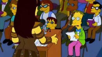 Lo hizo un mago Los Simpson