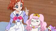 02. Haruka explicando a Pafu el siginificado de un Dia Deportivo
