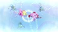 Flora scarlet golpeando hielo zetsuborg