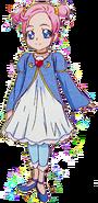 Marie Ange de pequeña