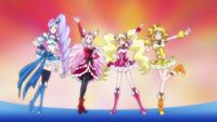 Fresh Pretty Cure Group Finish