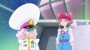 Hikaru y Toppa discutiendo sobre la responsabilidad de cada uno