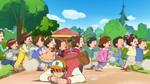 KKPCALM09 Tatsumi overrun by kids