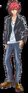 Perfil de Harry Hariham en su forma humana (TV Asahi)