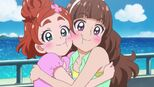 Huruka and Kirara Blush For Mermaid's Brother