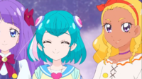 STPC21 Lala and Elena watch Blue Cat and Hikaru happily
