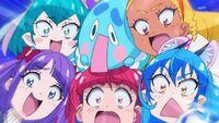 STPC38 Prunce and the girls freak out over Fuwa having the Matter Cookie
