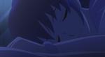 Megumi sleeping