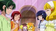 Todos con animos de nuevo, despues de las palabras de Miyuki