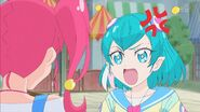 STPC3.36-Lala le devuelve el fuego, diciendo que Hikaru debería escucharla entonces