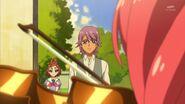 46.Kanata observando como Towa toca su violin