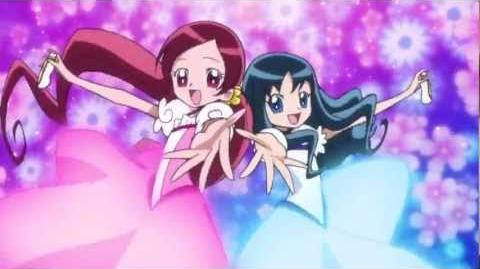 Cure Blossom and Cure Marine Transformation