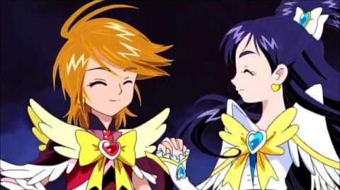 Rayo de Mármol Pretty Cure Max Chispa (versión Fénix)