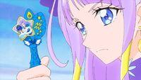 STPC24 Selene looks at th Aquarius Star Princess Color Pen