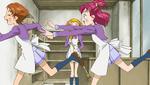 Nozomi chasing Rin