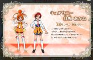 Perfiles de Cure Sunny & Akane (Toei Animation)