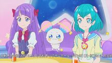 STPC27 Madoka and Fuwa find the core of Planet Pururun really pretty