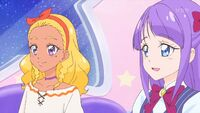 STPC36 Elena and Madoka are happy to hear that Yuni wouldn't do anything that would hurt them