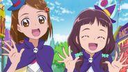Kana y Masumi disfrazadas de brujas en el episodio 39