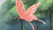 Mariposa roja rin