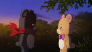 Kumata preguntandole a Mofurun cual es us gran sueño