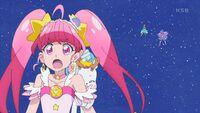 STPC44 Star and Fuwa scream in horror