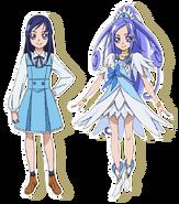 2Cure Diamond y Rikka