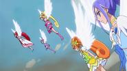 Las Pretty Cure preparadas para luchar