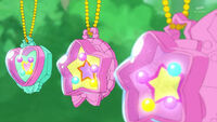 STPC16 Lala, Elena and Hikaru reveal that they each have a charm