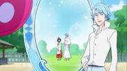 Blue les muestra su pasado con un espejo