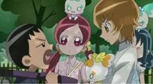 Mitsuru getting jealous of Itsuki