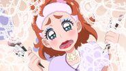 8. Haruka con su maquillaje terminado