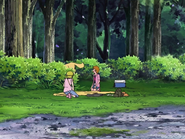 Chutaro huye bosque