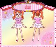 Ickika Usami con su vestimenta de verano (Toei Animation)