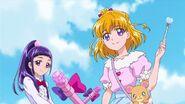 Riko, Mirai y Mofurun en HUGtto
