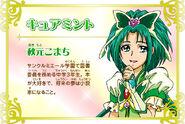 Cartel de Cure Mint en Pretty Cure All Stars New Stage 3