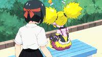 STPC16 Yumika wonders who Aiwarn is